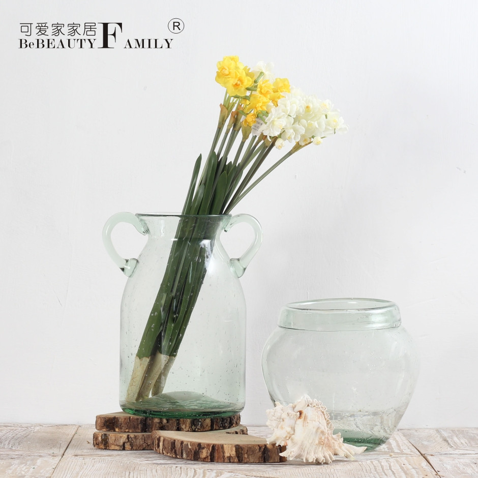 10.5 glass cylinder vase of china flower glass bottle china flower glass bottle shopping guide intended for get quotations a· cute green bubble bottle glass cylinder vase glass vase flower vase home decorations put pieces of