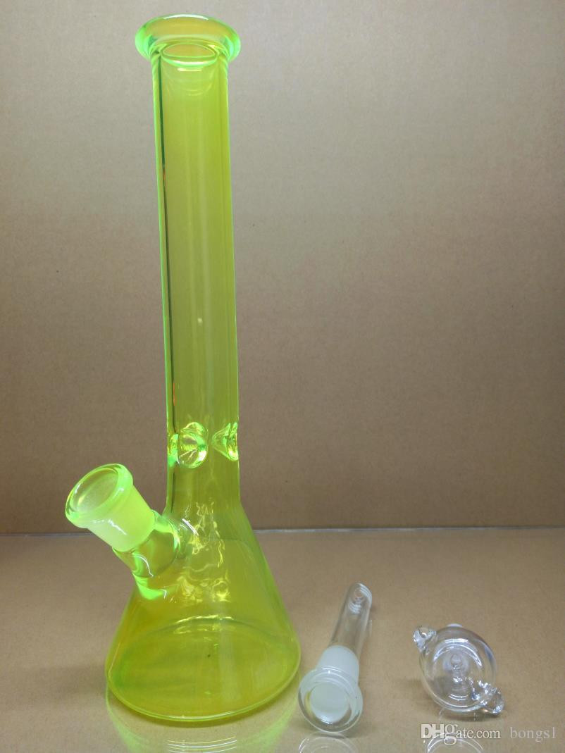 10.5 Inch Cylinder Vases Of Best Glass Water Pipes Beaker Bong 10 5inch Three Colors Smoking In Glass Water Pipes Beaker Bong 10 5inch Three Colors Smoking Mini Glass Bong Oil Rig Water