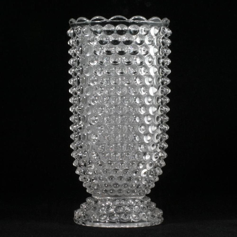 12 Glass Cylinder Vase Of Eapg Double Eye Hobnail Celery Vase Antique Pressed Glass 1880s Inside Eapg Double Eye Hobnail Pattern Celery Vase Made by Columbia Glass Co In 1889 then by U S Glass Co 7 25h X 3 75d