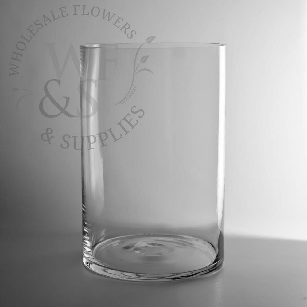 12 glass cylinder vase of glass cylinder vases wholesale flowers supplies inside 12 x 8 glass cylinder vase