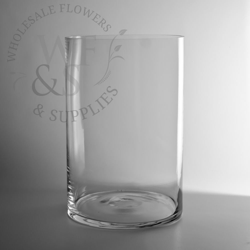 12 in cylinder vases bulk of glass cylinder vases wholesale flowers supplies throughout 12 x 8 glass cylinder vase