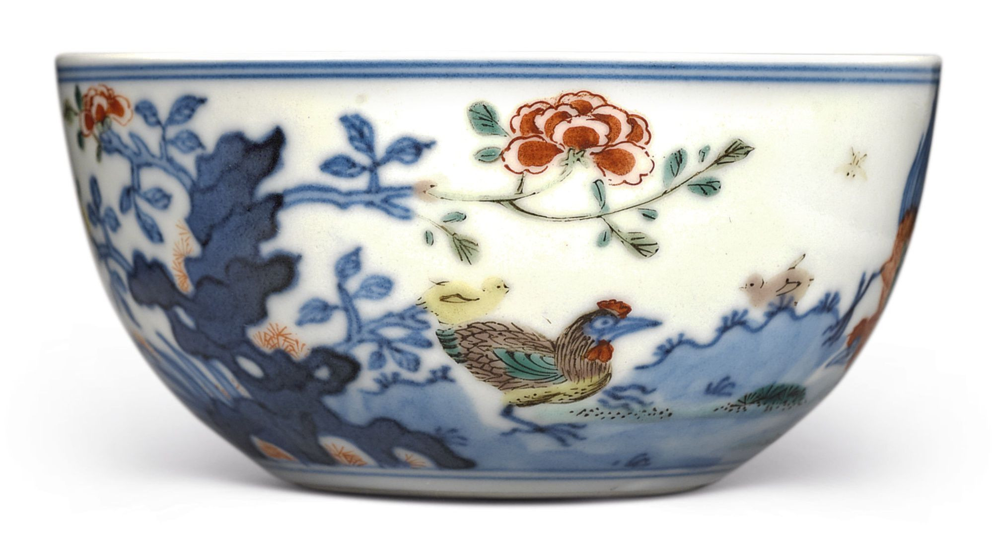 17th century chinese vase of a wucai chicken cup qing dynasty 18th century vintage china with regard to a wucai chicken cup qing dynasty 18th century