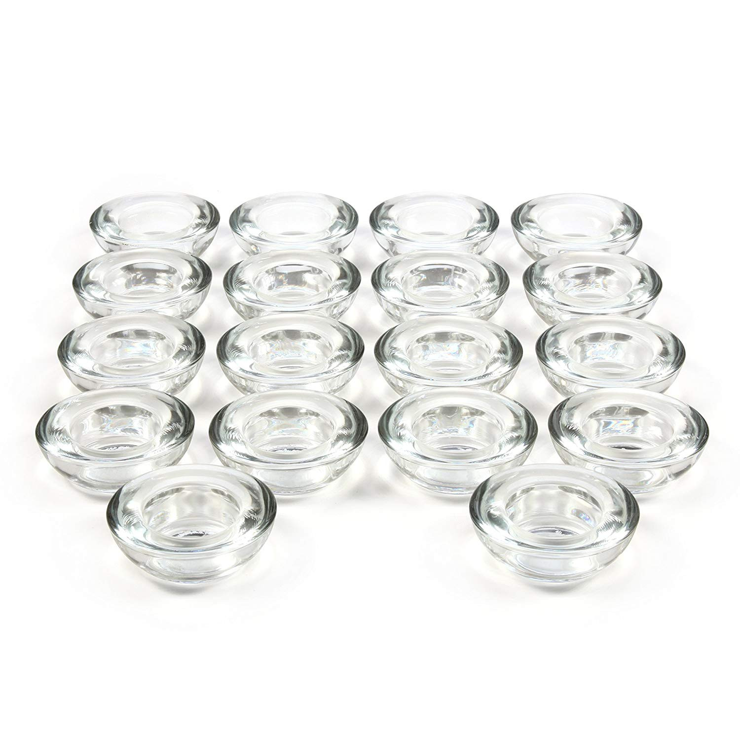 18 inch glass vase of amazon com hosley set of 18 clear glass led tea light holders 3 throughout amazon com hosley set of 18 clear glass led tea light holders 3 diameter ideal gift for weddings party spa reiki meditation votive candle gardens