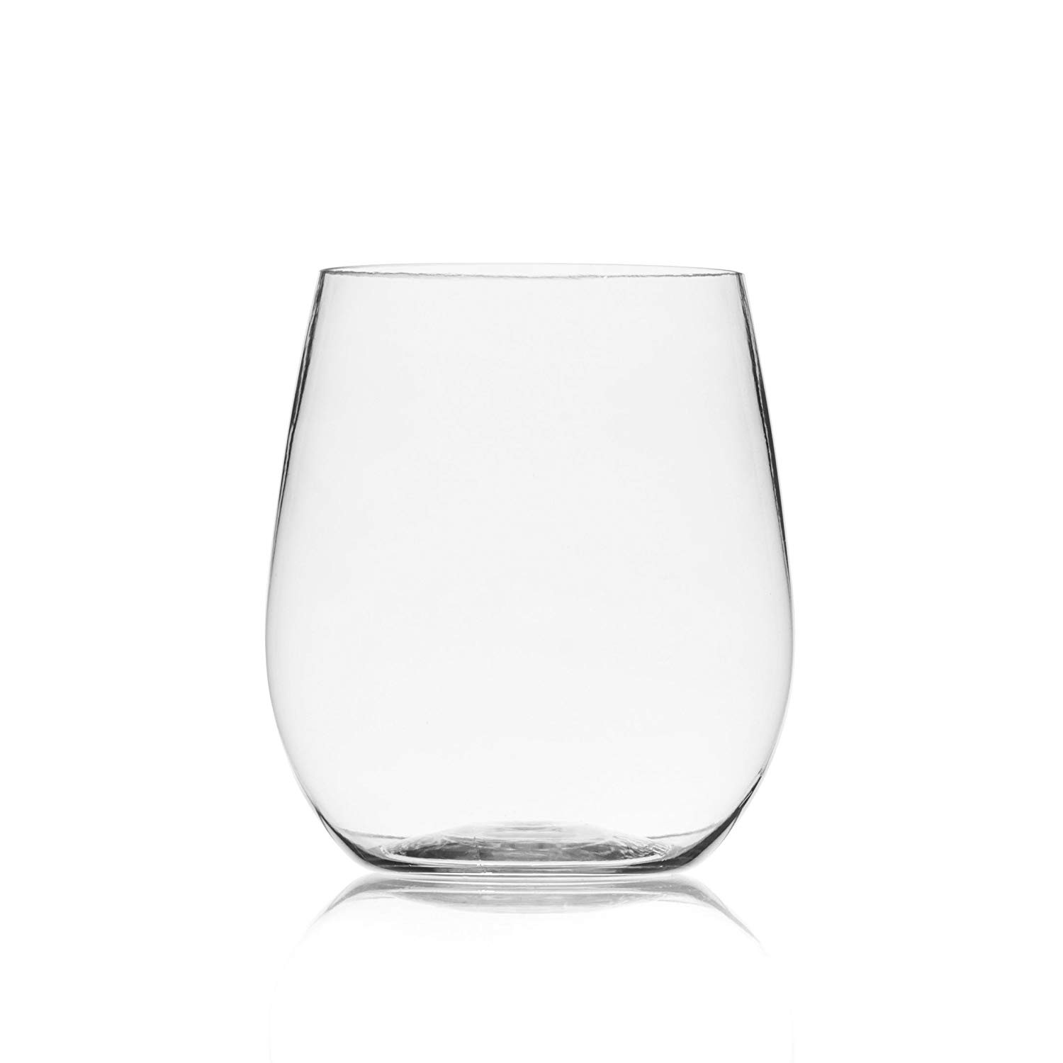 18 inch vases in bulk of amazon com berevino plastic wine glasses stemless wine cup 12 throughout amazon com berevino plastic wine glasses stemless wine cup 12 ounce set of 48 clear plastic unbreakable wine glasses disposable reusable shatterproof