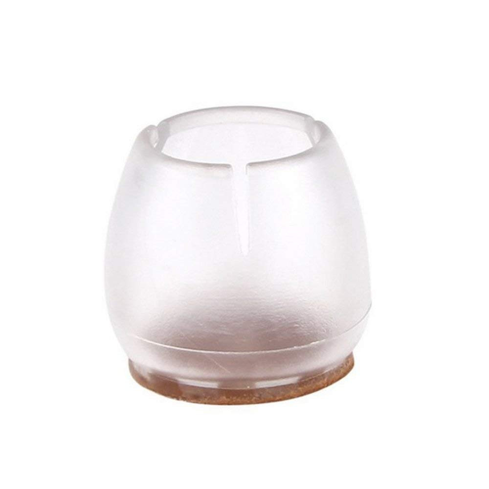2 foot tall glass vases of amazon com 8 pack transparent caps felt pads for chairs or intended for amazon com 8 pack transparent caps felt pads for chairs or furniture leg feet round square furniture flexible wood floor protector covers prevent