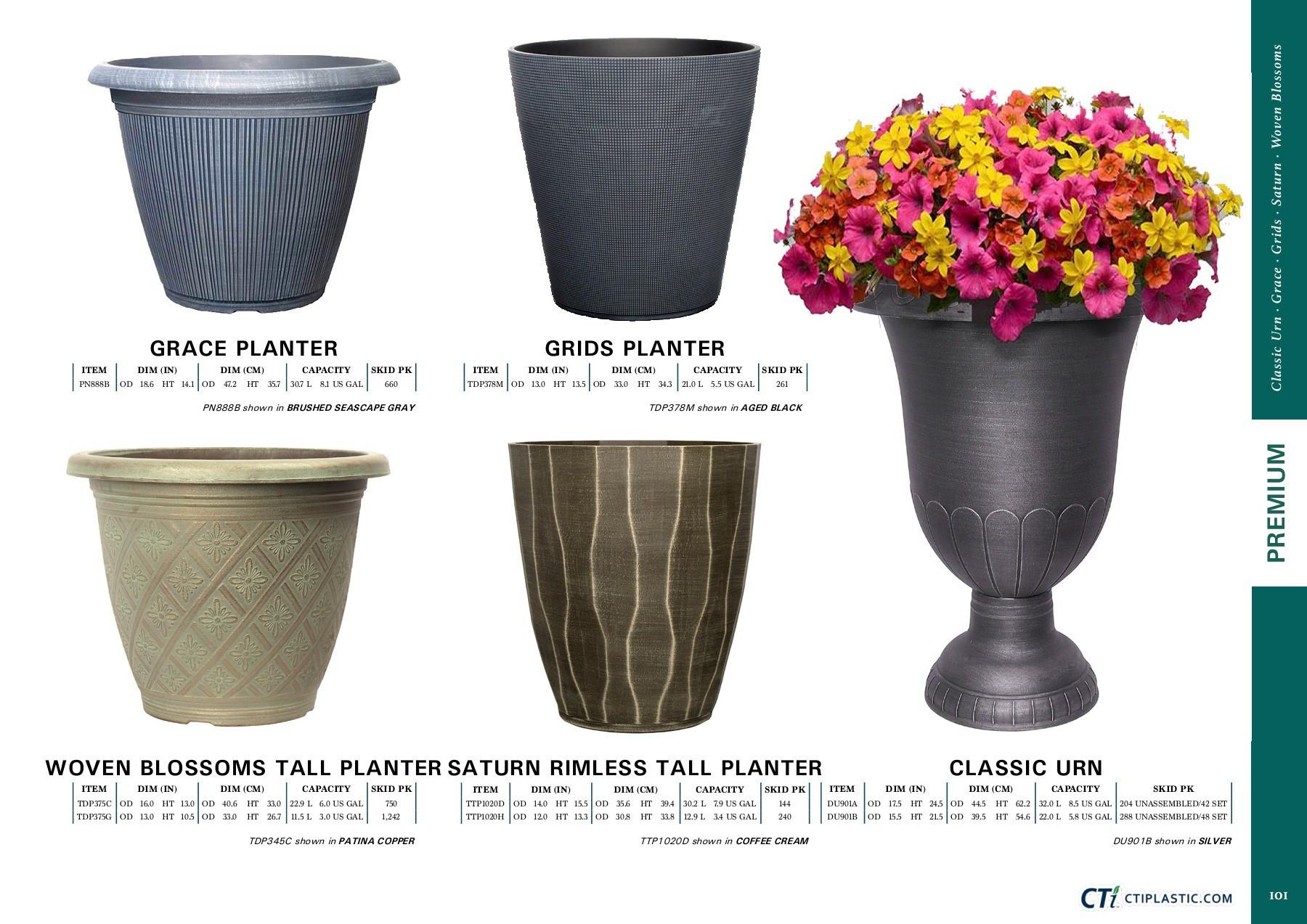 2 gallon vase of beautiful fishborg planter buza me with regard to 101
