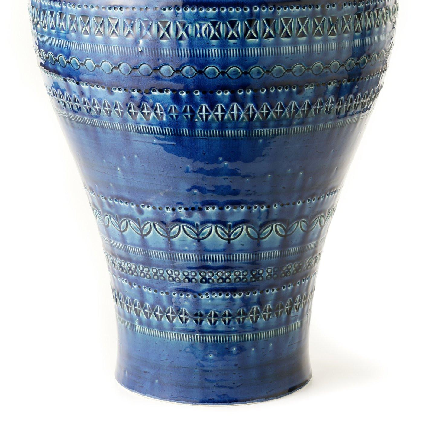 20 inch cylinder vases of blue vase by aldo londi for sale at 1stdibs intended for bitofi 016 b20161012 25813 1l0yqgt org