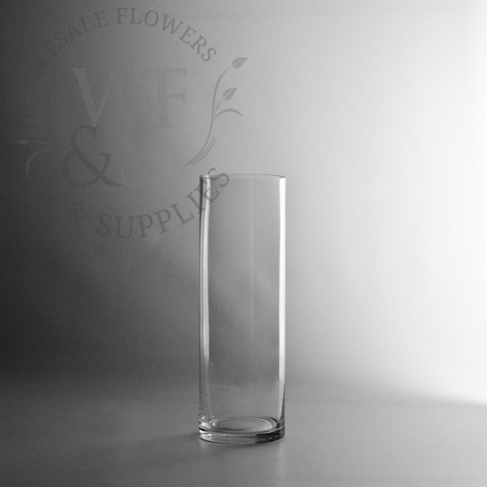 20 inch cylinder vases of glass cylinder vases wholesale flowers supplies throughout 12 x 4 glass cylinder vase
