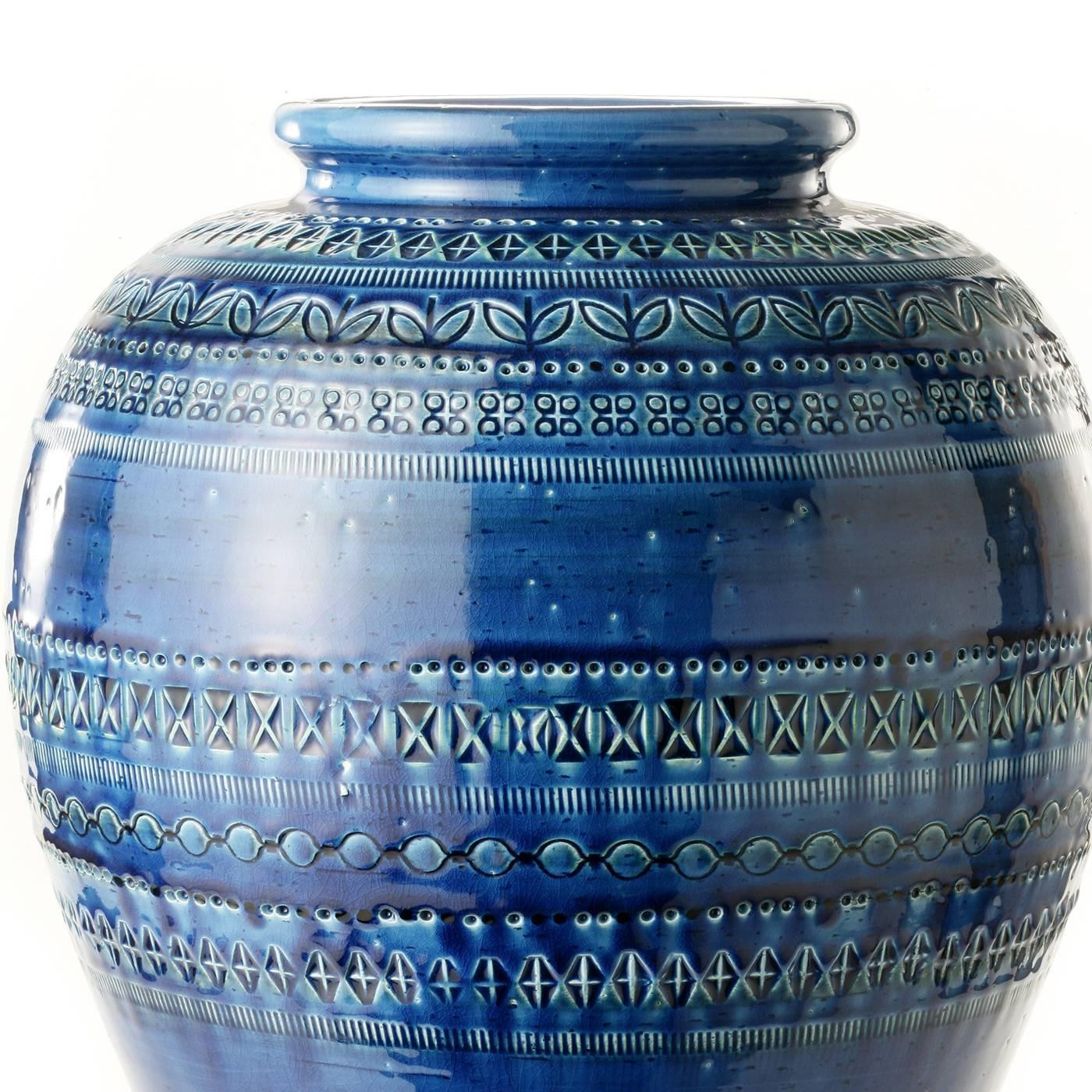 20 inch trumpet vases of blue vase by aldo londi for sale at 1stdibs for bitofi 016 a20161012 25813 msuj0j z