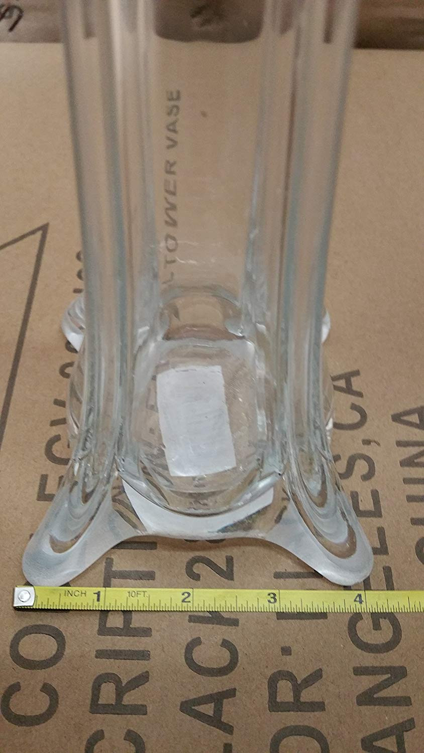 24 clear glass eiffel tower vases of amazon com eiffel tower vase 32 inch case of 12 by la crafts for amazon com eiffel tower vase 32 inch case of 12 by la crafts clear arts crafts sewing