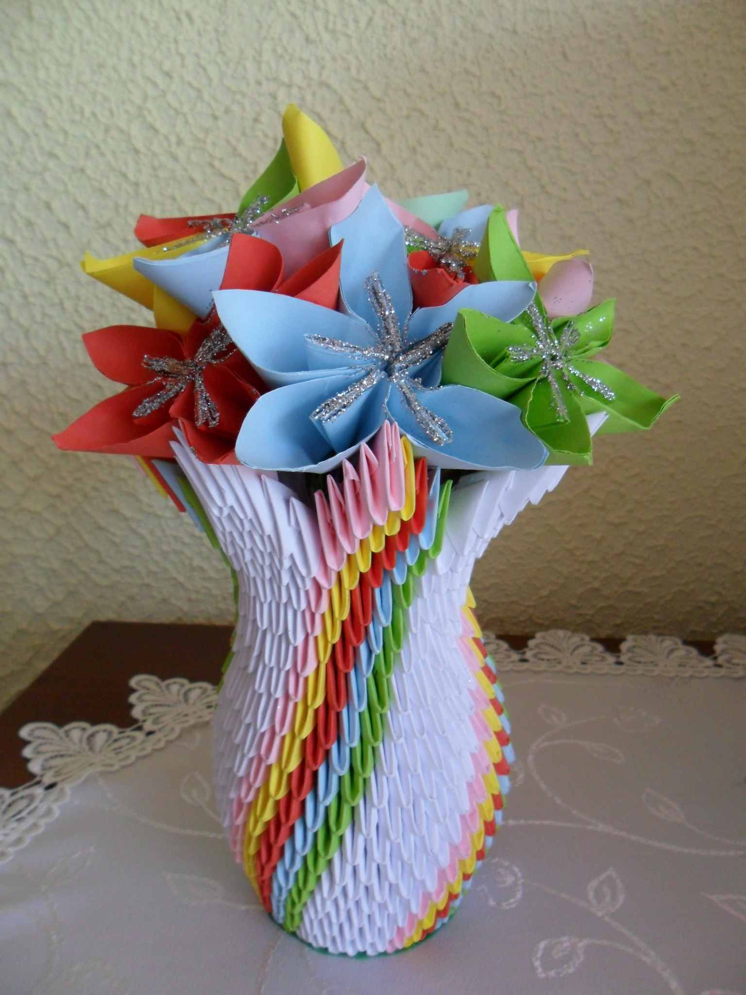24 inch square vase of how to make 3d origami units throughout 3d vase 56a6d5c13df78cf772907945 jpg