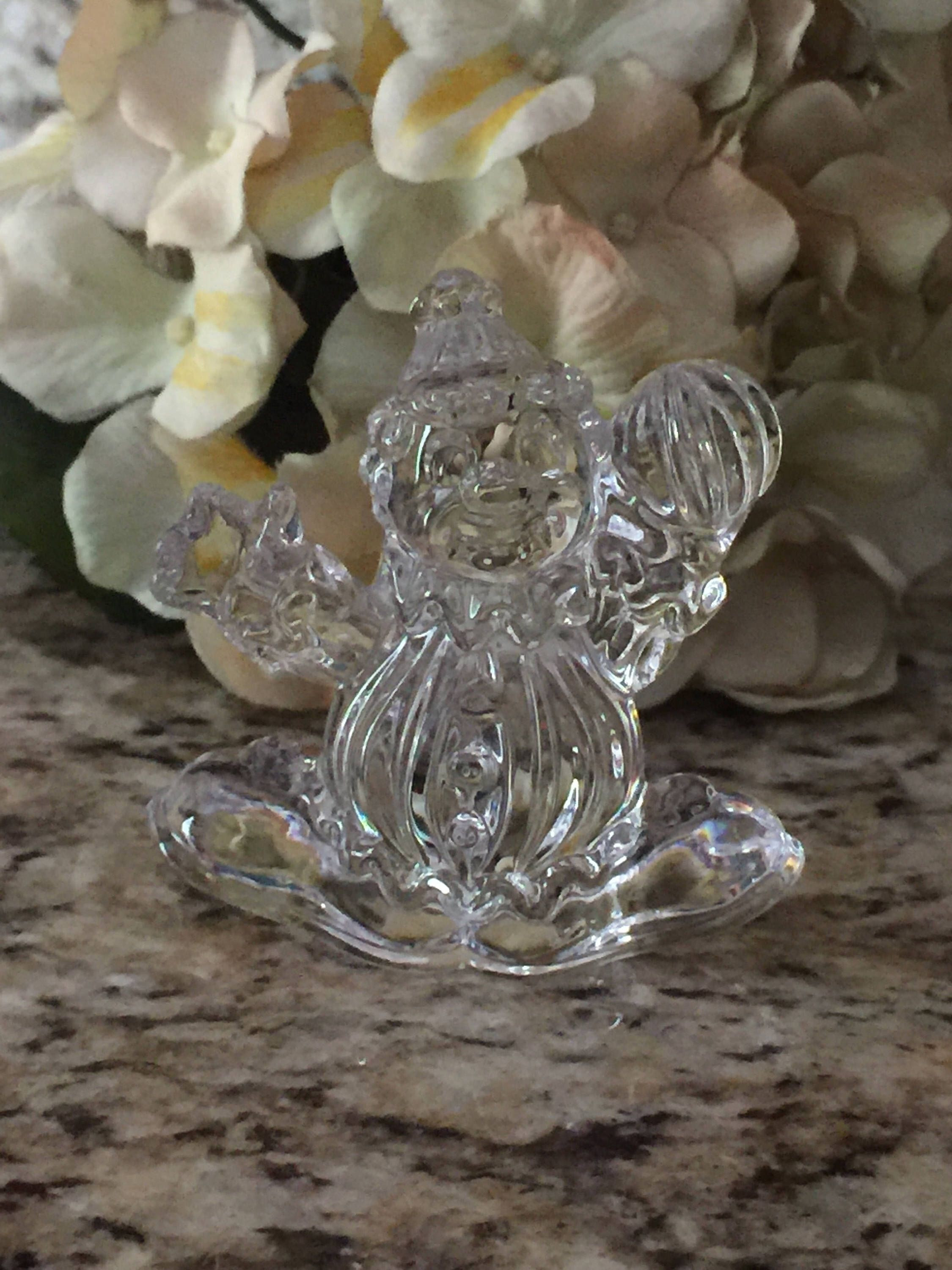 24 inch tall glass vases of princess house lead crystal clown figurine glass clown crystal within princess house lead crystal clown figurine glass clown crystal figurine clown statue 24 lead crystal by cottagehillcrafts on etsy