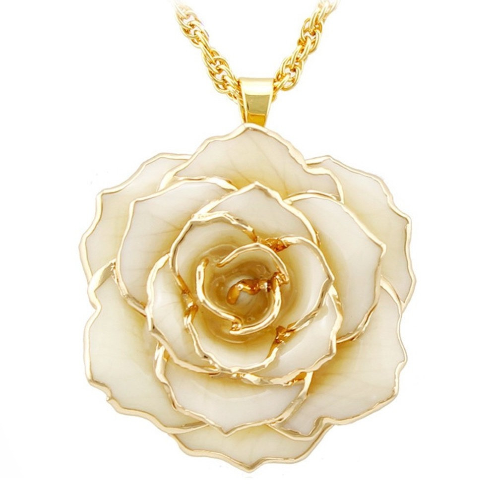 24k forever rose and engraved vase of gold rose 24k gold dipped rose pendant necklaces made of fresh intended for gold rose 24k gold dipped rose pendant necklaces made of fresh rose last forever best anniversary gift forever rose