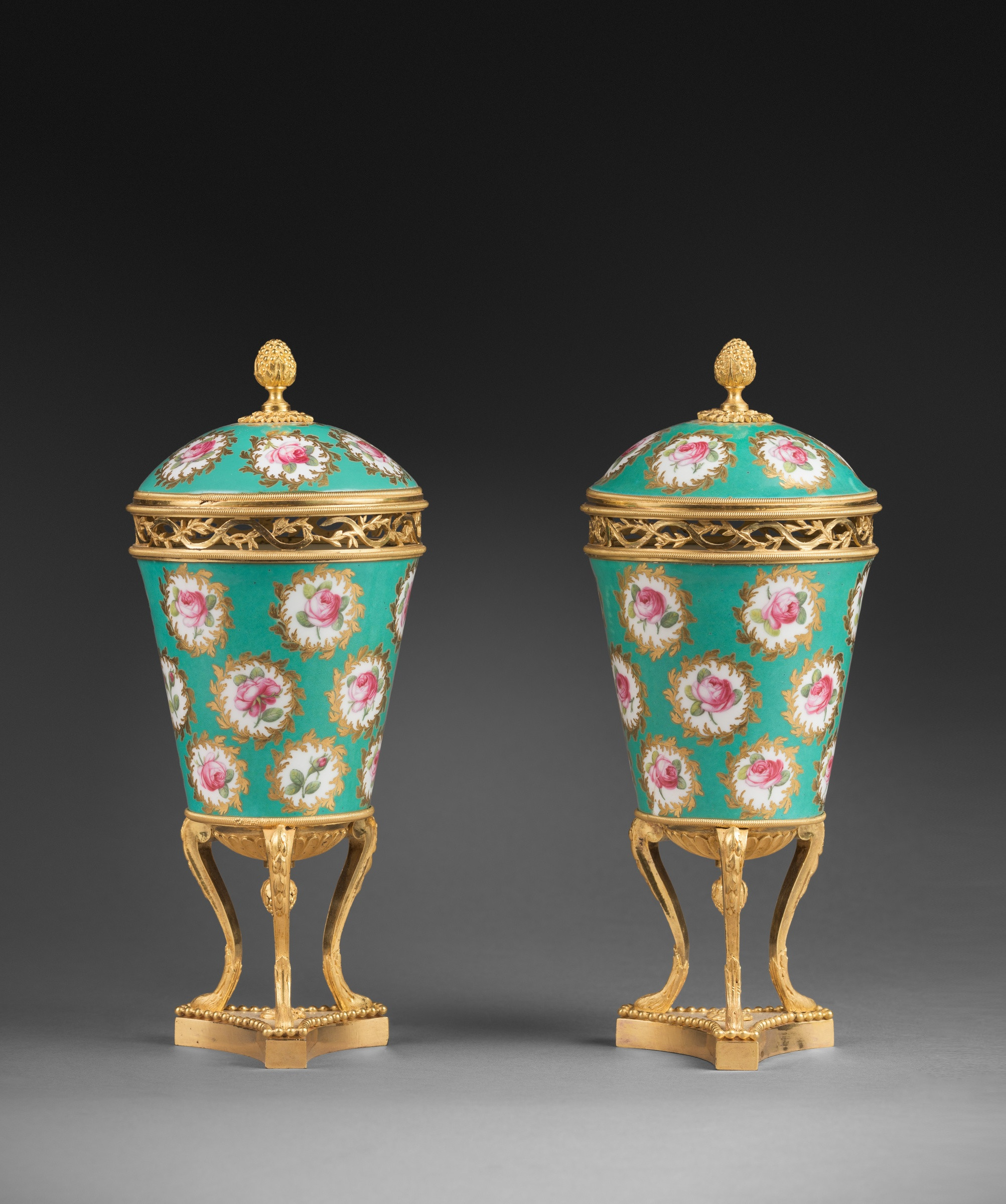 3 foot tall vases of sa¨vres a pair of louis xvi pot purri vases by sa¨vres paris date regarding a pair of louis xvi pot purri vases by sa¨vres