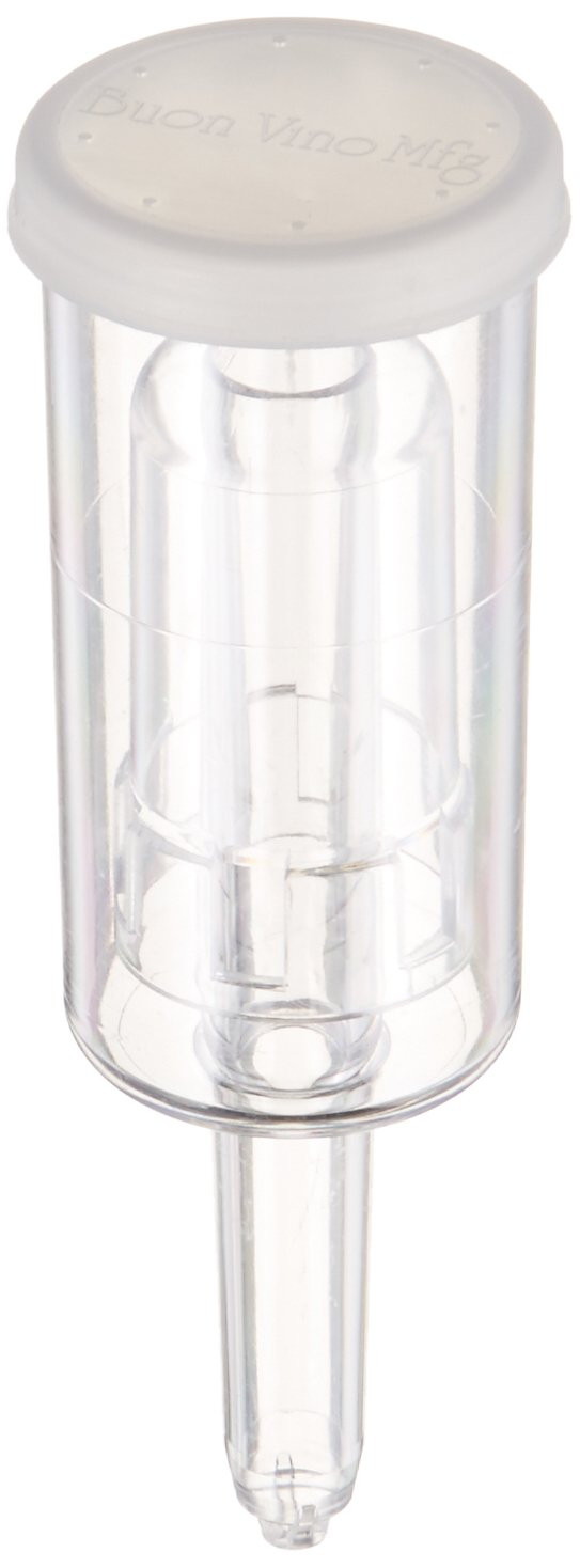3 gallon glass vase of best rated in brewing fermentation airlocks helpful customer with 3 piece plastic airlock sold in sets of 6 product image