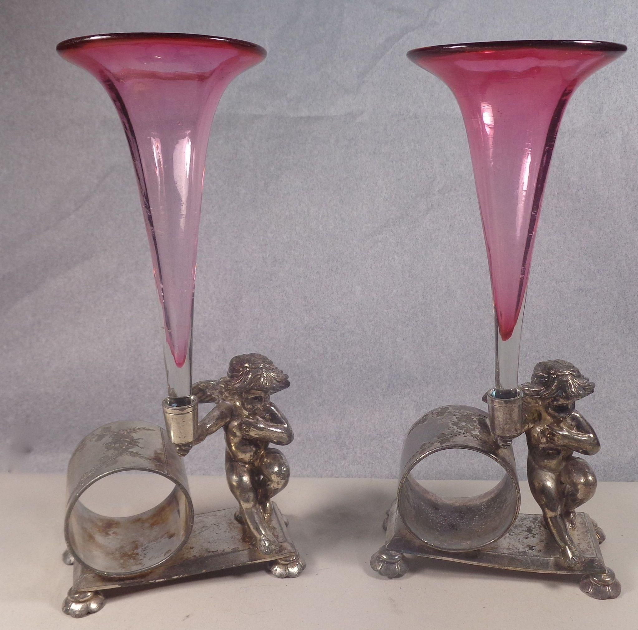 3 glass vases of cranberry glass vases with meriden napkin holder beautiful art for cranberry glass vases with meriden napkin holder