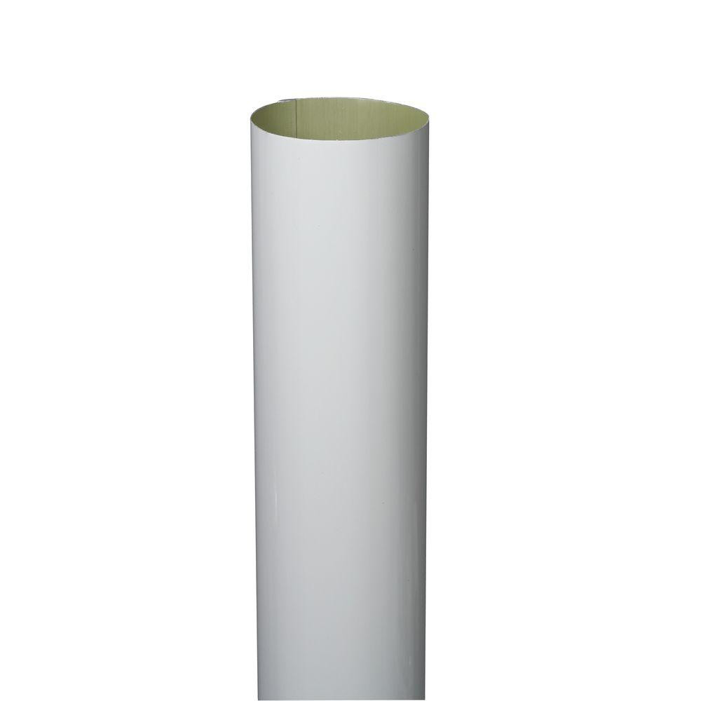 3 Inch Cylinder Vases Of Amerimax Home Products 3 In X 10 Ft White Aluminum Plain Round Inside Amerimax Home Products 3 In X 10 Ft White Aluminum Plain Round High Gloss