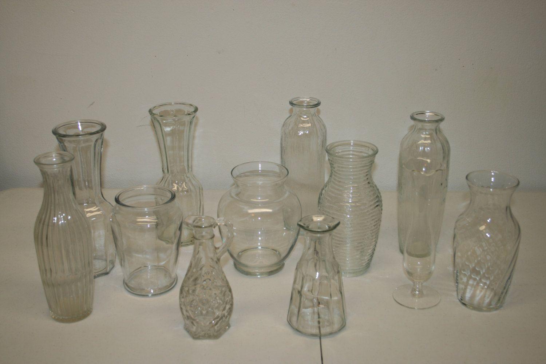 3 piece glass vase set of 12 mixed wedding vasesvase lotvase setwedding vasesglass vases with 12 wedding vase centerpiecevase lotvase setwedding vasesglass vases