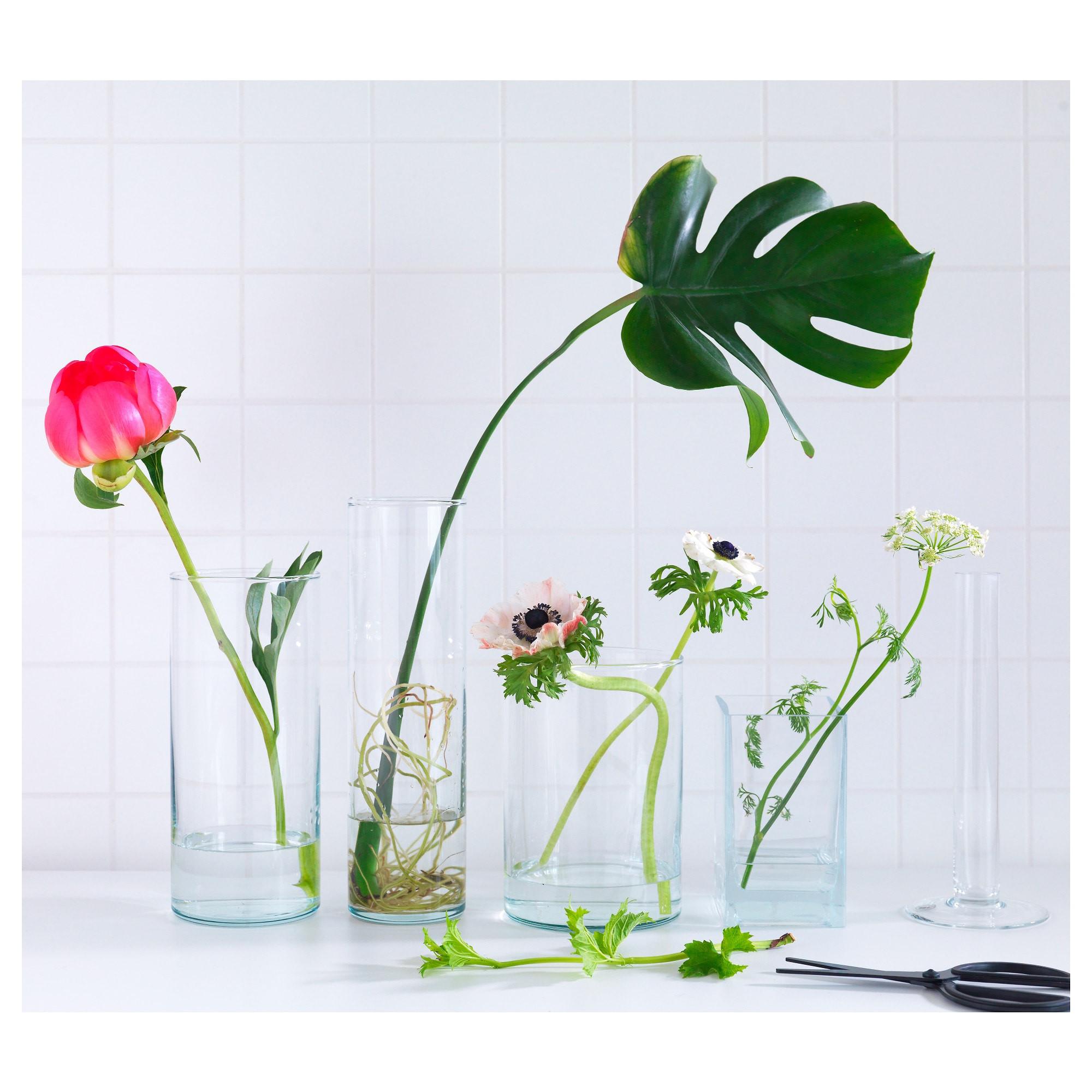 3 piece glass vase set of cylinder vase set of 3 ikea for 0392618 pe560406 s5 jpg
