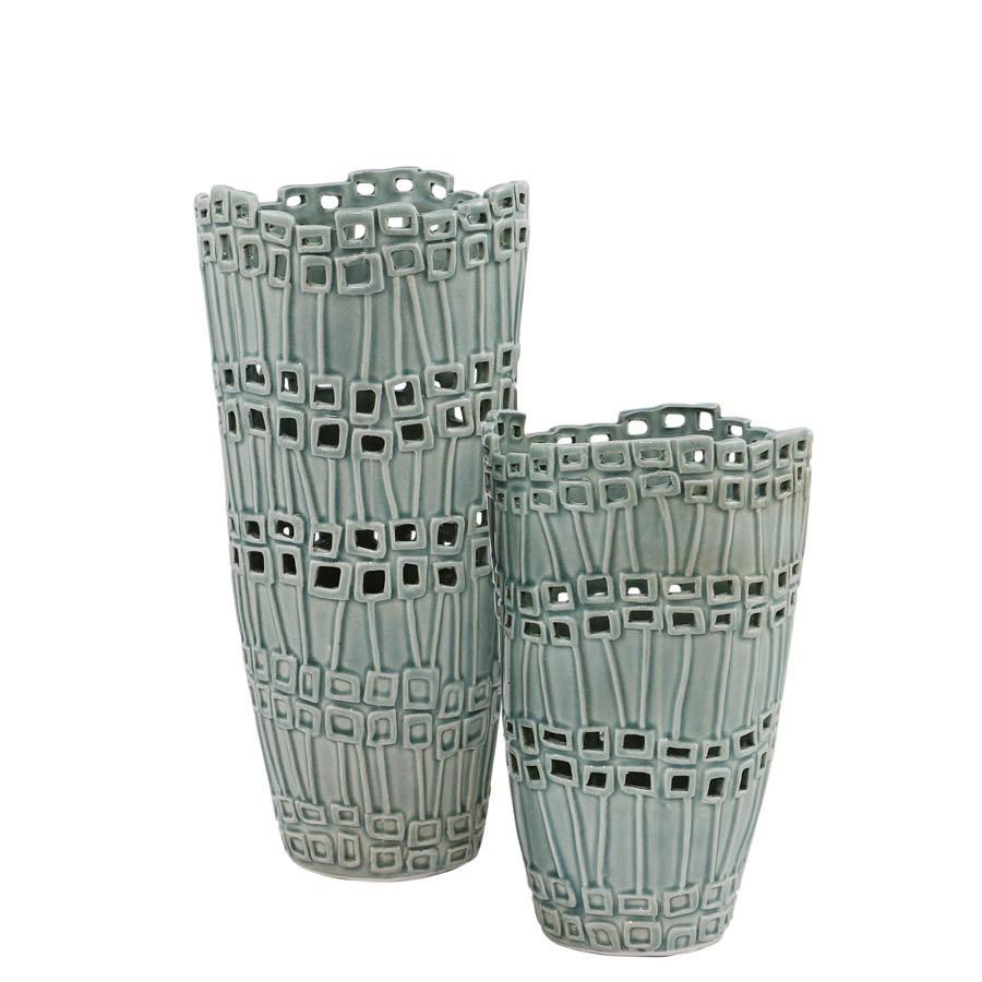 3 tiered cylinder vases of selectives 2 piece pionus vase set reviews wayfair ca intended for 2 piece pionus vase set