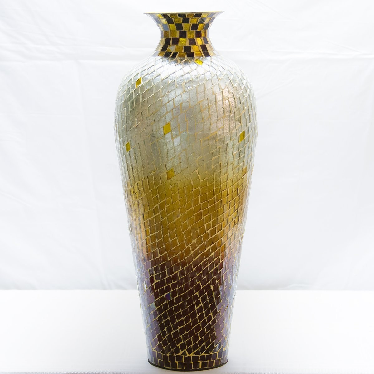 36 inch glass floor vase of tall mirrored floor vase mirror ideas pertaining to in decors 20 amphora nouveau vase metal floor with decorative glass mosaic overlay