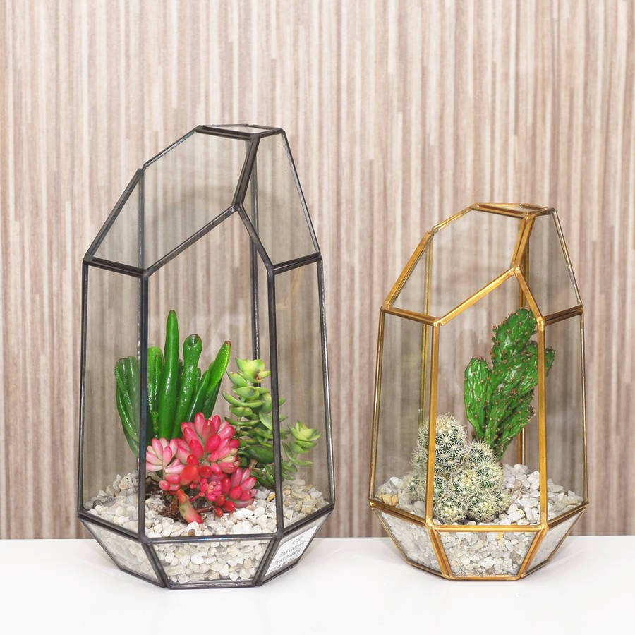 4 glass cube vase of geometric glass vase terrarium by dingading terrariums intended for geometric glass vase terrarium
