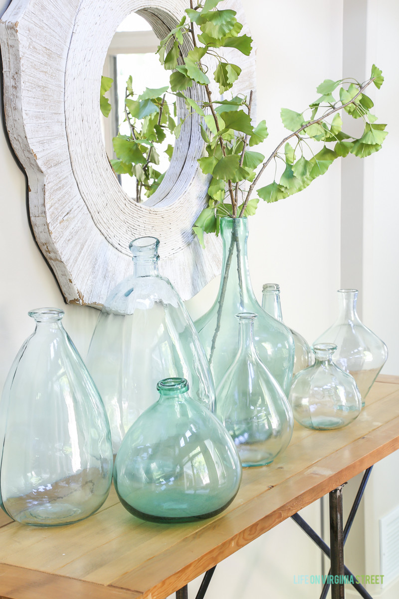 40 Inch Tall Vases Of Decorating with Aqua Vases Beneath My Heart Throughout Decorating with Aqua Vases