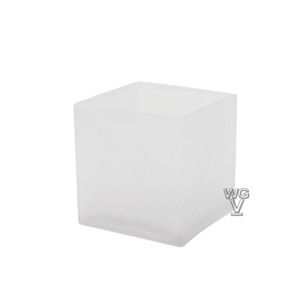 4x4 Glass Cube Vase Of Cube Glass Vases wholesale Glass Vases Floral Vases Wedding with Regard to Cube 4 Square Vases Frosted Item Vcb0004fr Case Pack 24 Pcs Case Size Open 4x4 Height 4 Color Frosted
