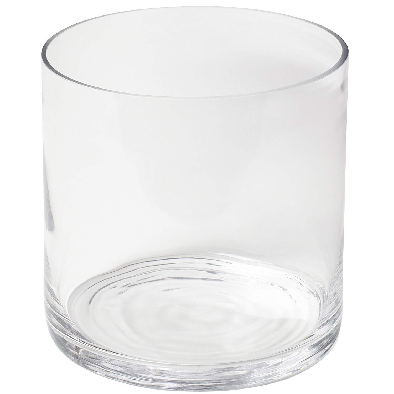 5 inch glass cylinder vase of amazon com couronne company 7250 large cylinder glass vase 67 6 oz pertaining to amazon com couronne company 7250 large cylinder glass vase 67 6 oz capacity home kitchen