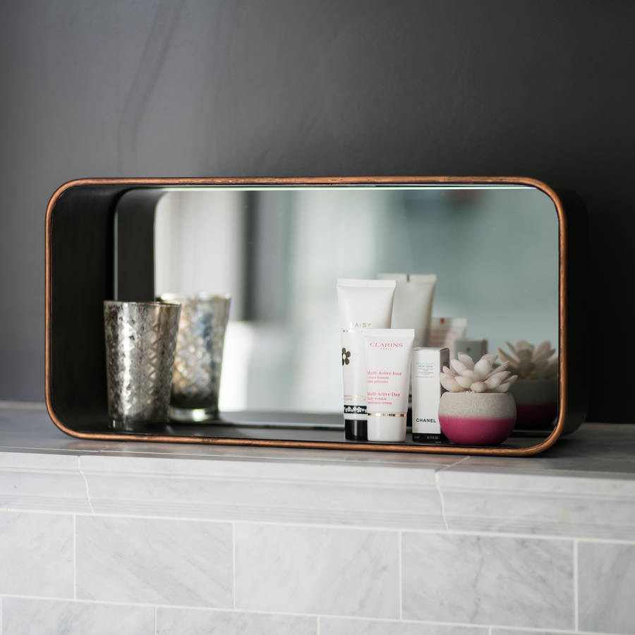 6 cube vase of industrial cube mirror wall shelf by i love retro throughout industrial cube mirror wall shelf