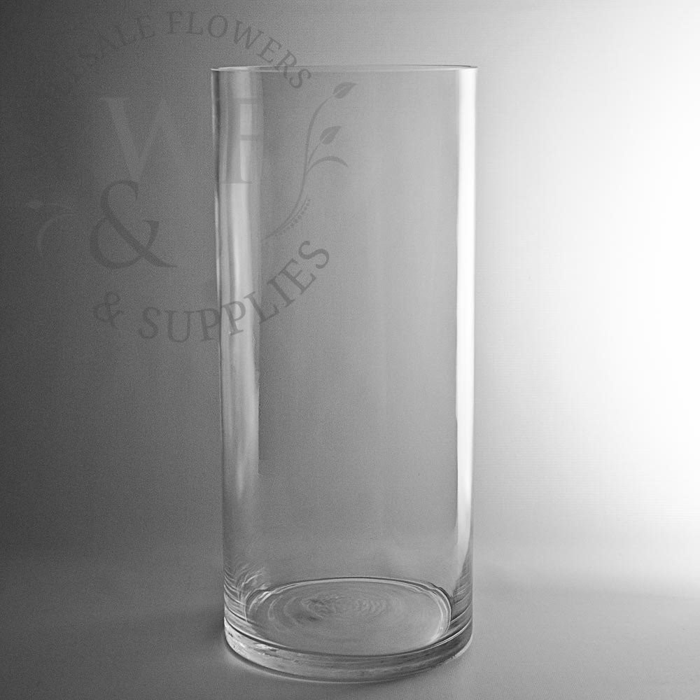 6 inch crystal vase of glass cylinder vases wholesale flowers supplies pertaining to 18 x 8 glass cylinder vase