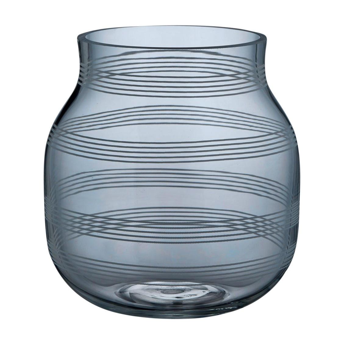 6x6 glass vase of ka¤hler omaggio glass vase h 17cm ambientedirect within omaggio glass vase h 17cm