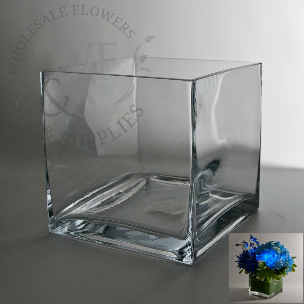 6x6 glass vase of square glass cube vase 6x6 wholesale flowers and supplies with square glass cube vase 6x6