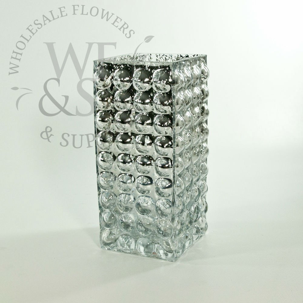 6x6 square glass vases bulk of mirrored mercury glass vases wholesale flowers supplies regarding 7 75 tall mercury glass vase