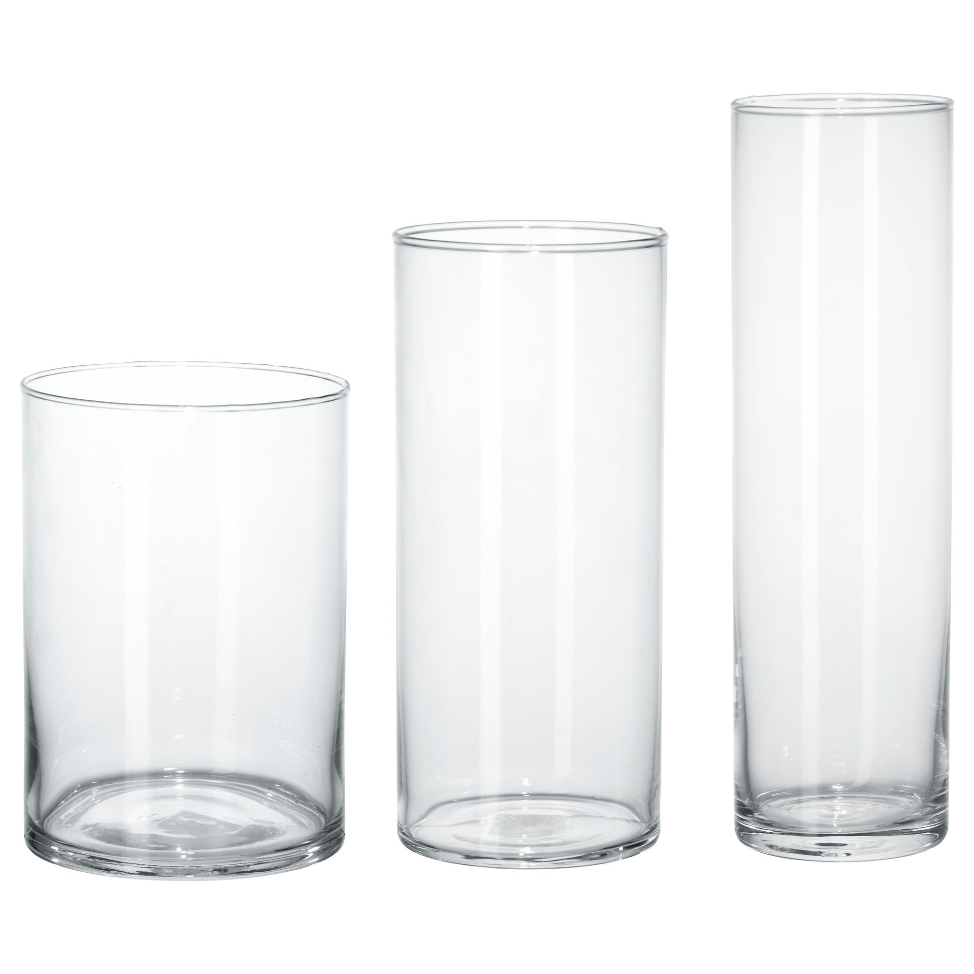 9 clear glass cylinder vase of cylinder vase set of 3 ikea intended for english frana§ais