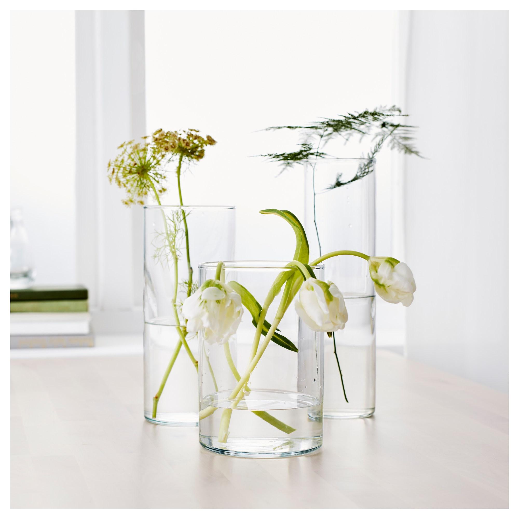 9 Inch Cylinder Vase Of Cylinder Vase Set Of 3 Ikea within 0429902 Pe584265 S5 Jpg