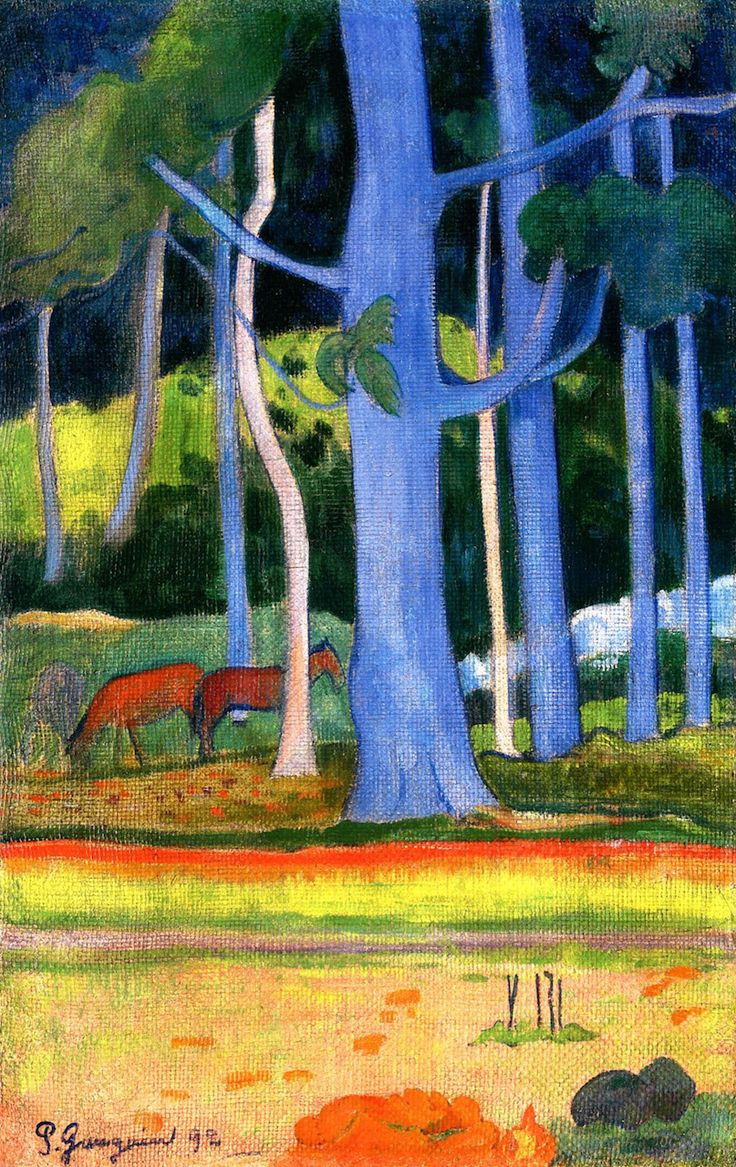 A Vase Of Flowers by Paul Gauguin Of 158 Best Gaugin Images On Pinterest Paul Gauguin Paisajes and Throughout Paul Gauguin 1848 1903 Landscape with Blue Tree Trunks 1892 Oil