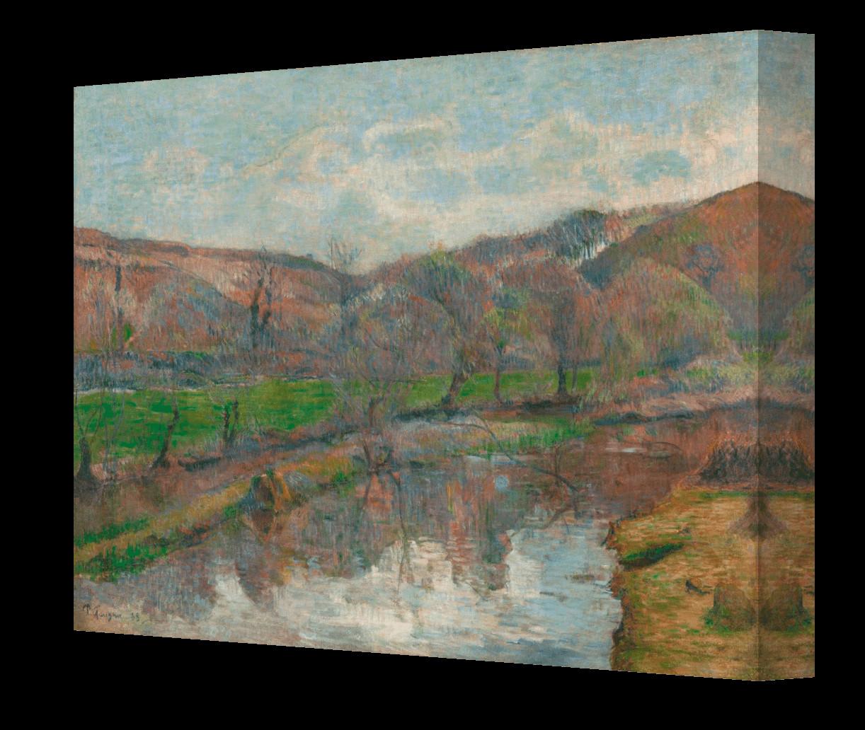 A Vase Of Flowers by Paul Gauguin Of Obraz Ka…pia…cy Sia™ Paul Gauguin Lotari within Obraz Krajobraz Bretanii Paul Gauguin