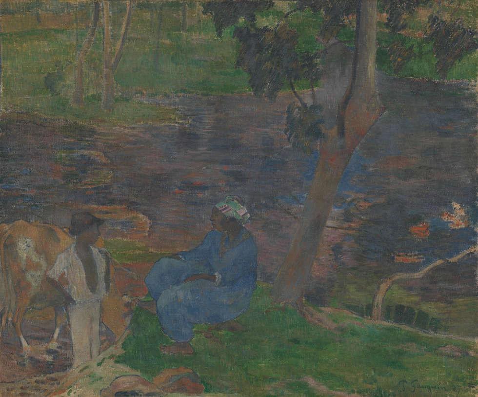 A Vase Of Flowers by Paul Gauguin Of Vincent Van Gogh Paul Gauguin In Arles Van Goghs sonnenblumen Intended for Paul Gauguin Am Flussufer In Martinique Martinique 1887 A–l Lw 54 5