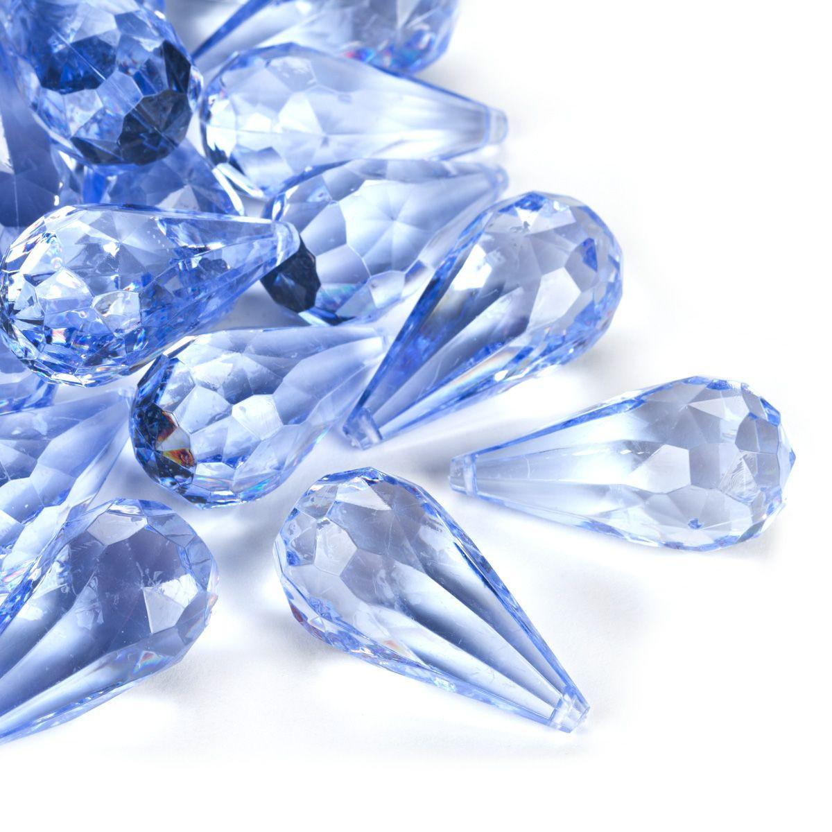 acrylic ice vase filler of light blue acrylic teardrop diamonds decorative gems 3 cups throughout light blue acrylic teardrop diamonds decorative gems 3 cups