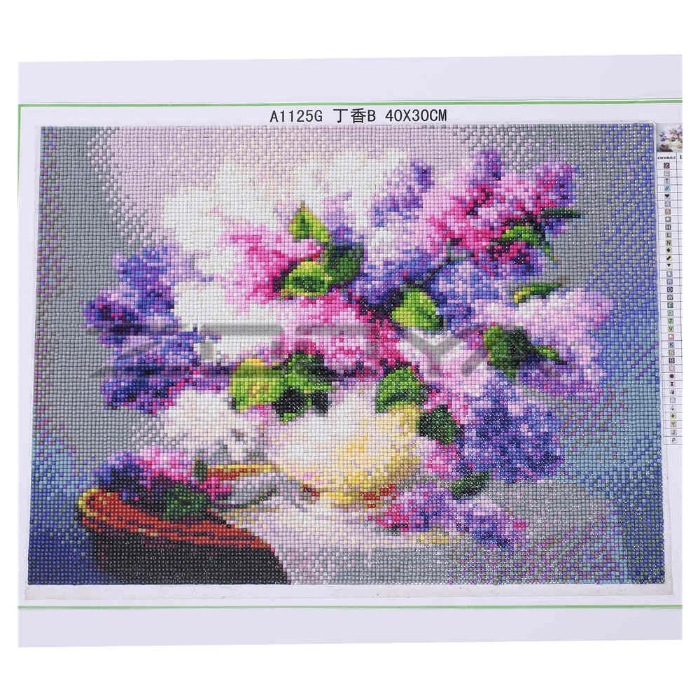 african violet vases of aliexpress com buy 5d diy diamond painting flower crystal diamond in aliexpress com buy 5d diy diamond painting flower crystal diamond painting cross stitch windowsill flower vase needlework home decorative bj831 from