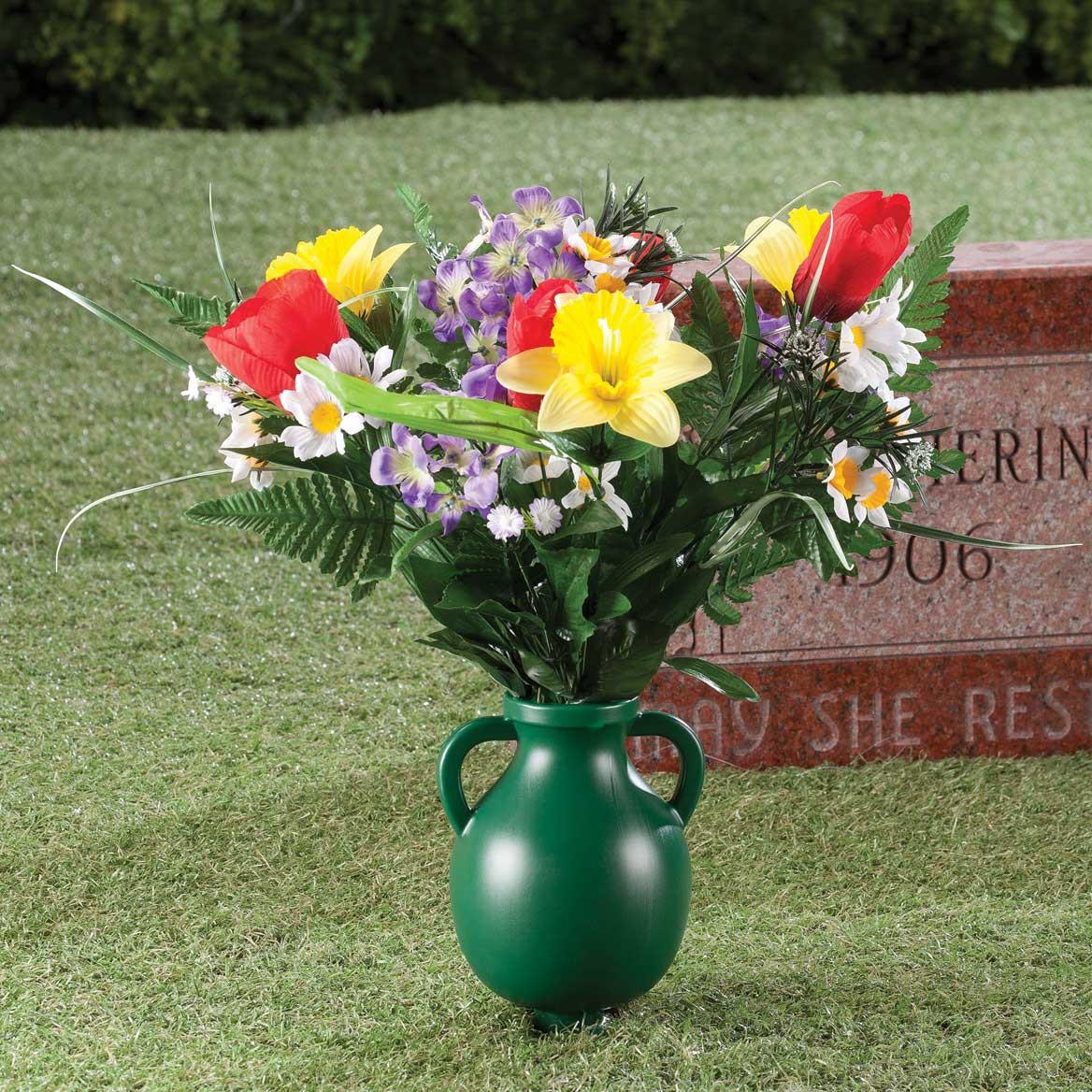 aluminium grave vase insert of outdoor sale walter drake with garden cemetery vase 359808 garden cemetery vase 359808