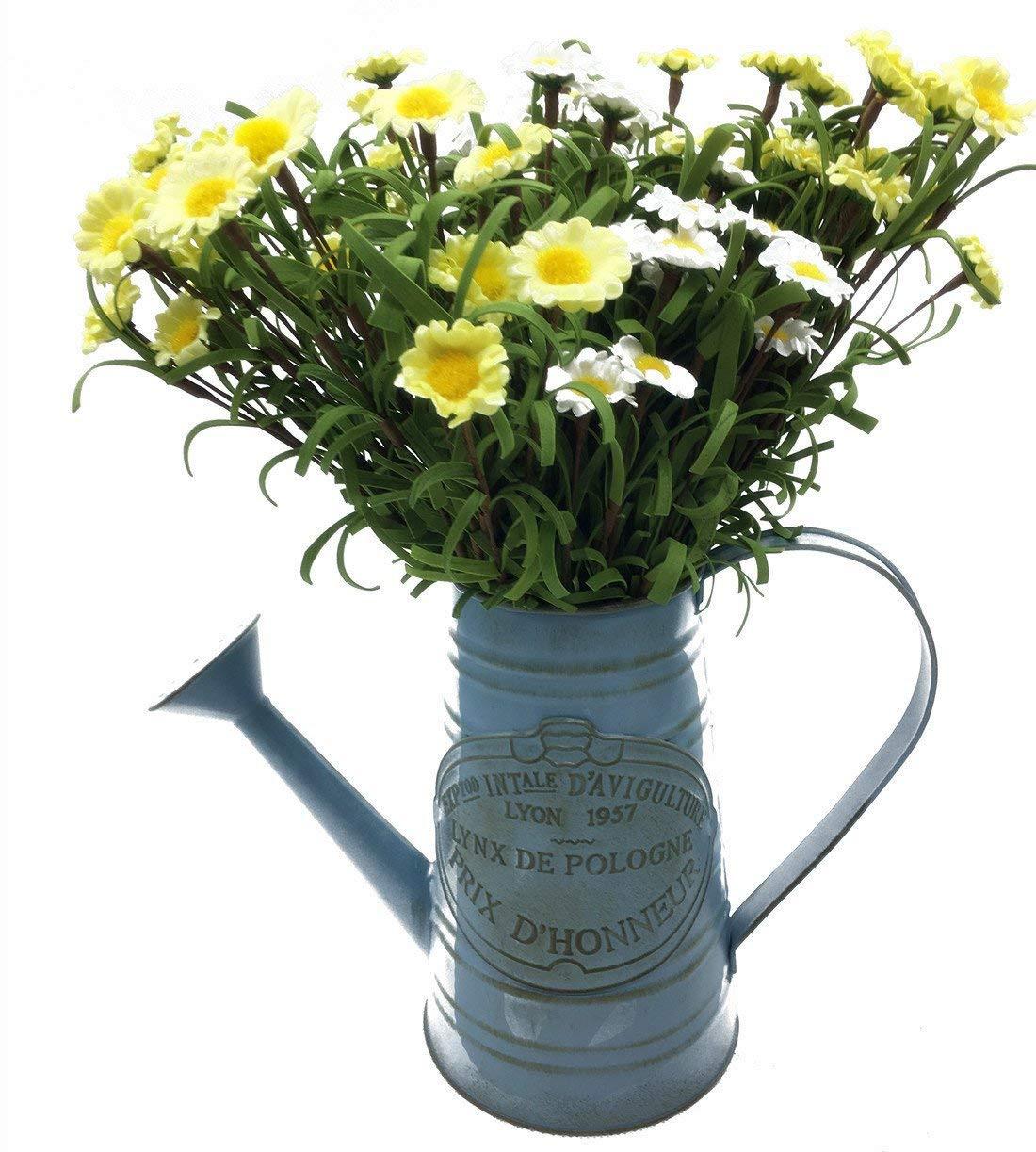 amazon small flower vases of apsoonsell shabby chic metal jug vase flower holder for home within apsoonsell shabby chic metal jug vase flower holder for home decoration amazon ca home kitchen