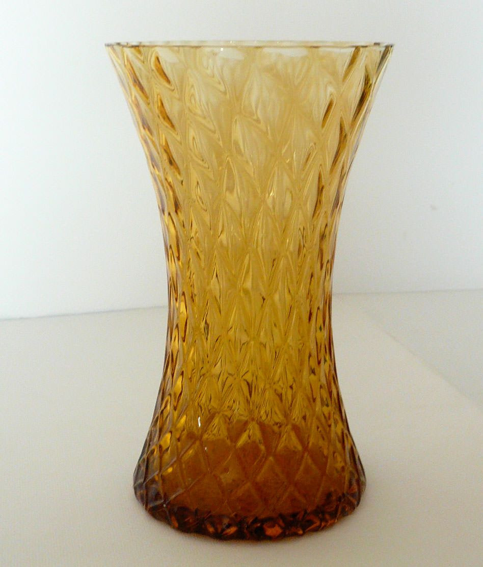 amber bubble glass vase of vintage skylo amber glass vase canterbury living room pinterest intended for vintage skylo amber glass vase