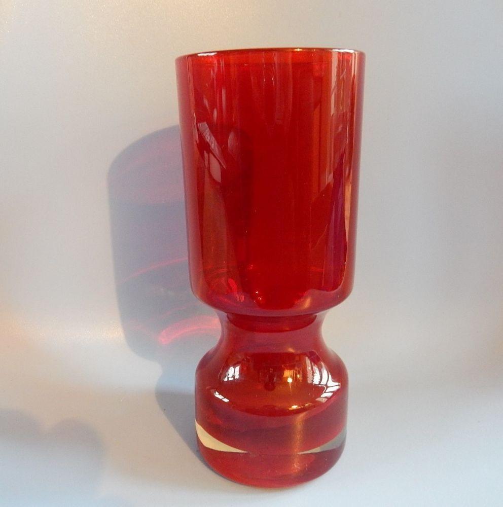 amber crackle glass vase of orange glass vase vintage images stunning vintage 1960s ruby red within orange glass vase vintage images stunning vintage 1960s ruby red alsterfors swedish glass vase