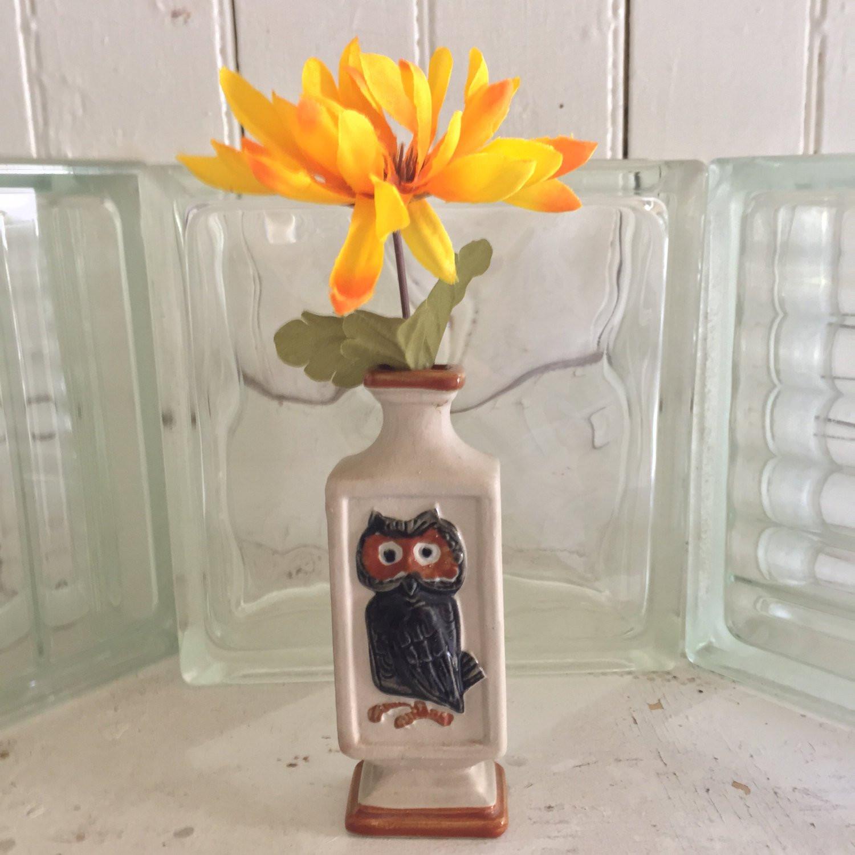 """anchor hocking bud vase of sale vintage ceramic bud vase pedestal vase with black and etsy throughout dŸ""""Žzoom"""