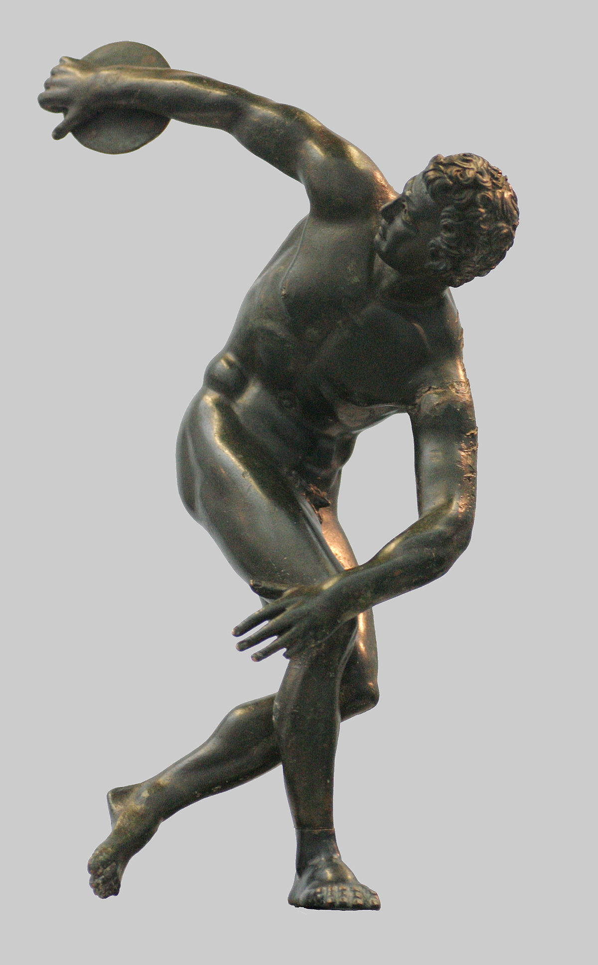 ancient greek vase replicas of discobolus wikipedia inside 1200px greek statue discus thrower 2 century ac