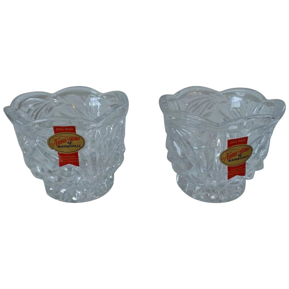 Anna Hutte Bleikristall Lead Crystal Vase Of Anna Hutte Bleikristall Lead Crystal Votive Candle Holder Set Regarding Anna Hutte Bleikristall Lead Crystal Votive Candle Holder Set Click to Expand