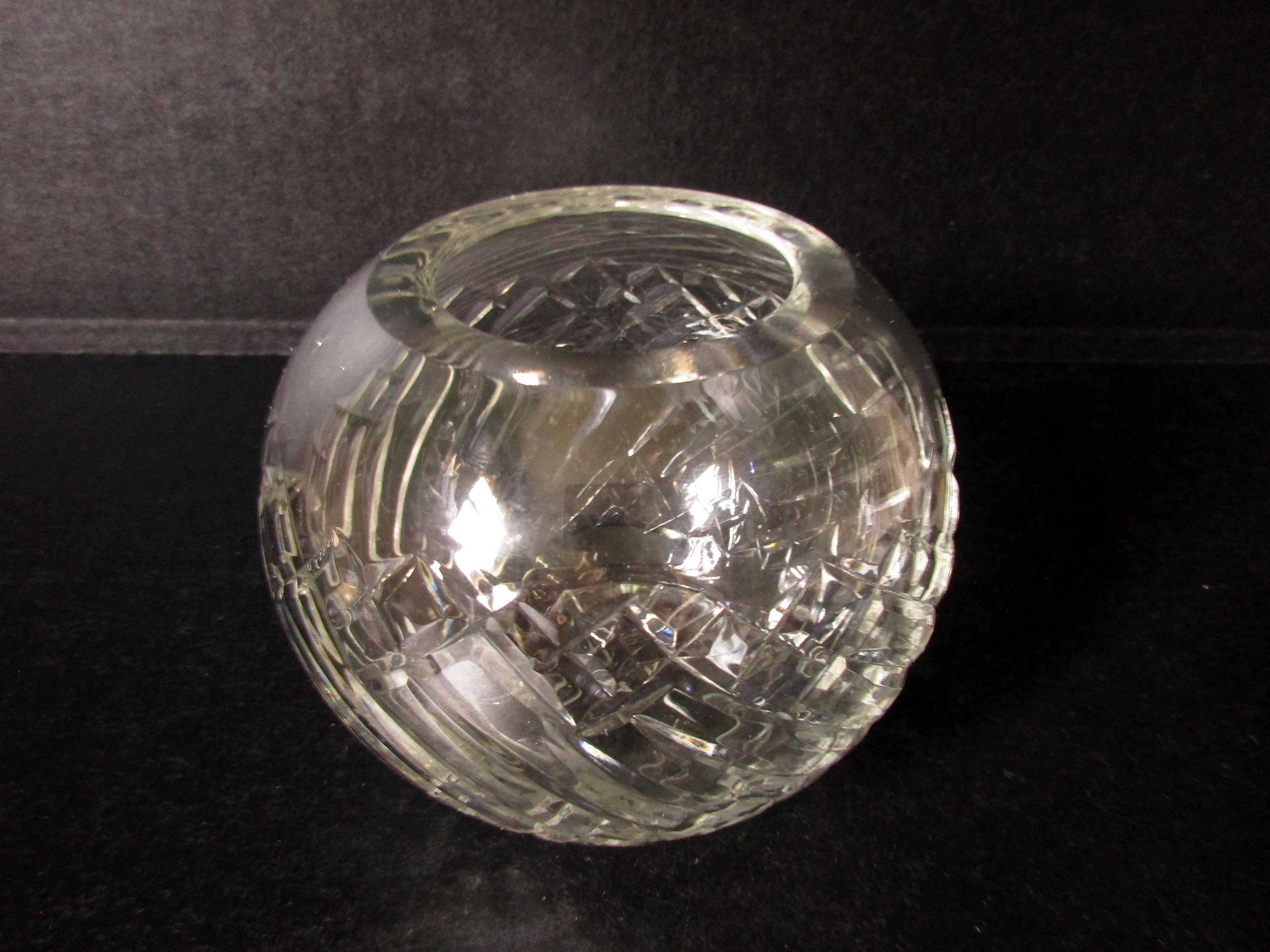 anna hutte bleikristall lead crystal vase of crystal rose bowl round crystal vase vintage cut glass etsy pertaining to dc29fc294c28ezoom