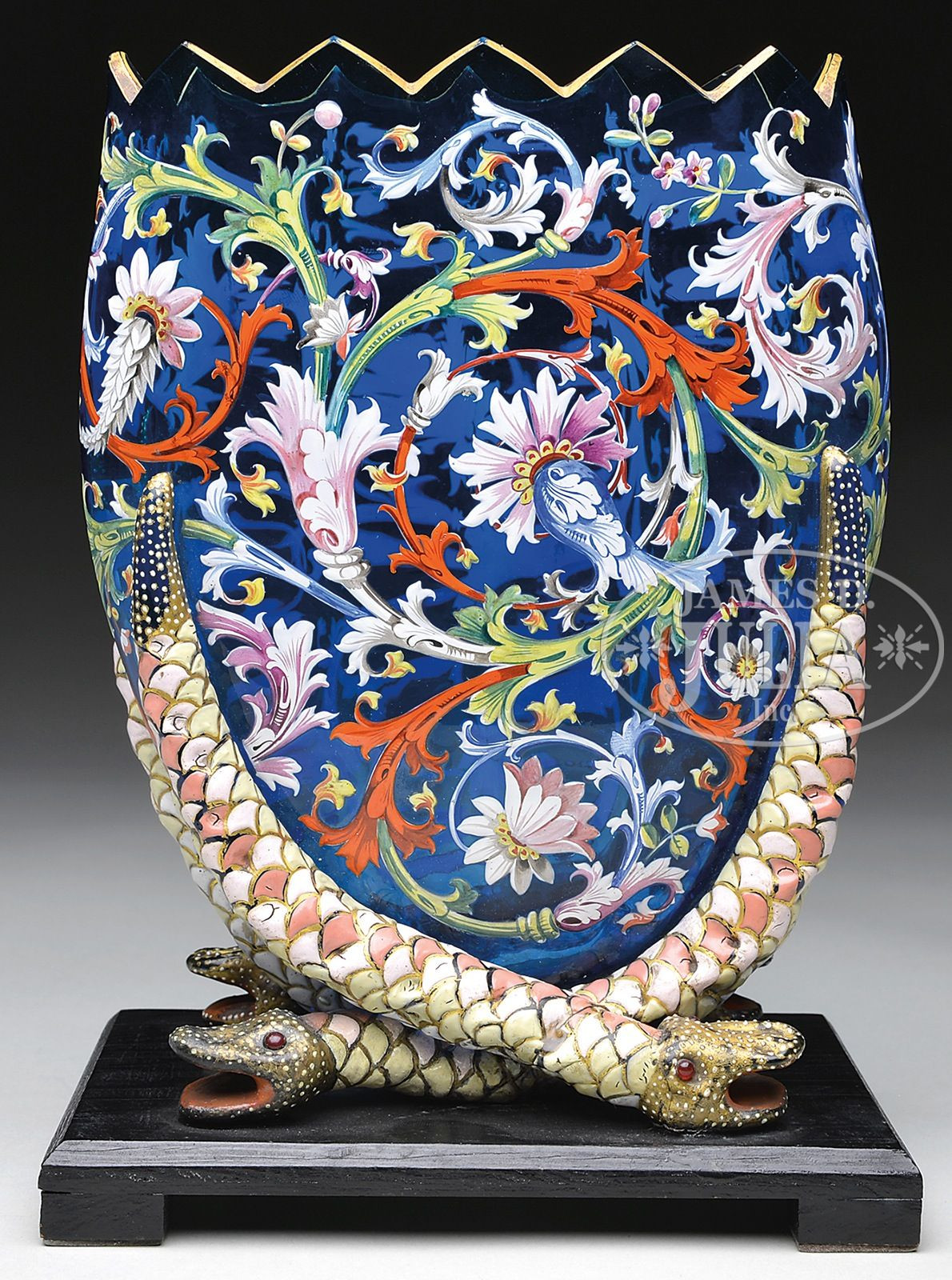 antique bohemian glass vase of moser decorated vase is pictured in the book moser glass the with regard to moser decorated vase is pictured in the book moser glass the klabin collection by g